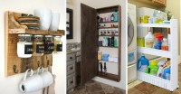 35 Best Storage Ideas and Projects for Small Spaces in 2017