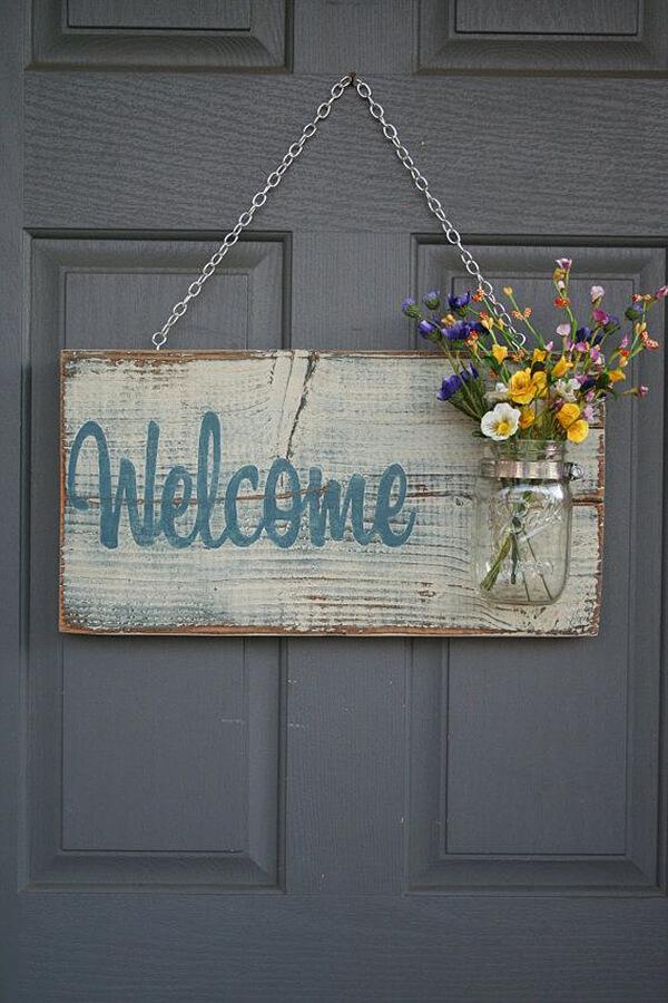 Welcome Spring 17 DIY Porch Decor Ideas  Style Motivation