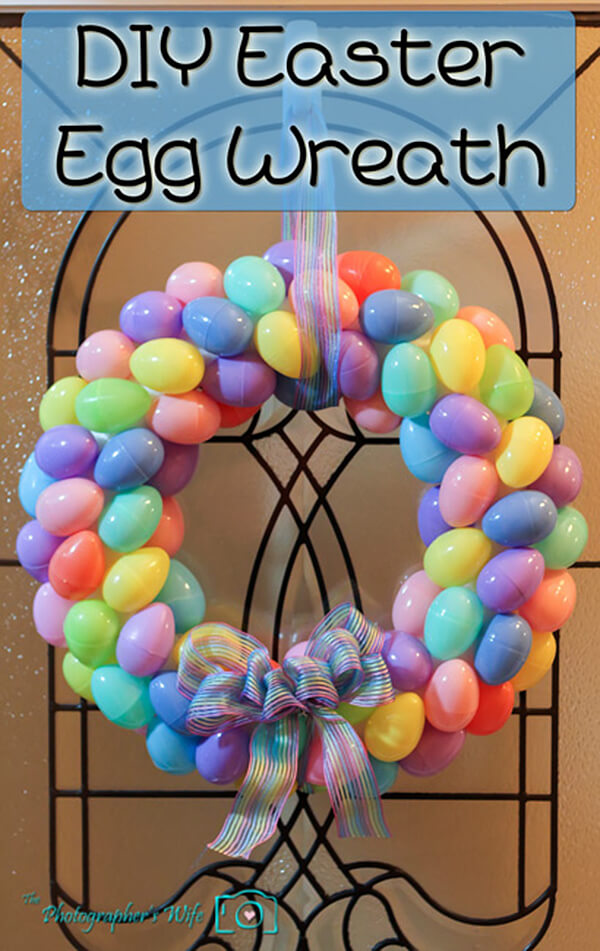 DIY Easter Decorations 17 Ideas How to Make a Cute Easter Door Wreath  Style Motivation