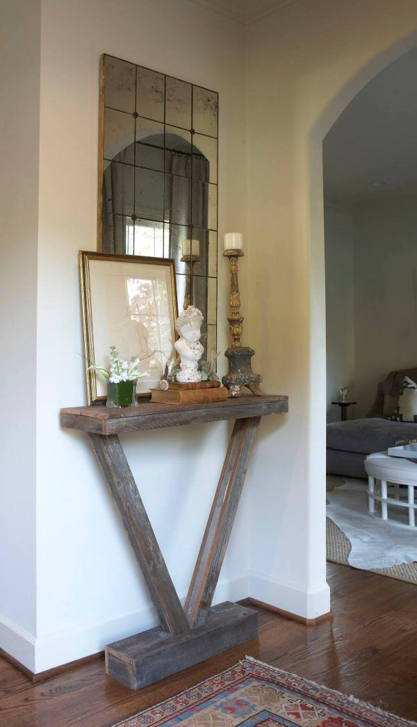 Small Entryway Tables with Mirror