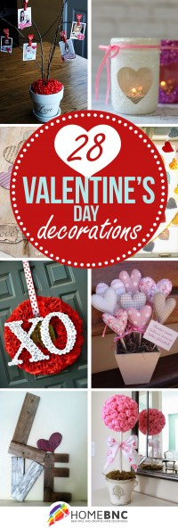 28 Best Valentine's Day Decor Ideas and Designs for 2017