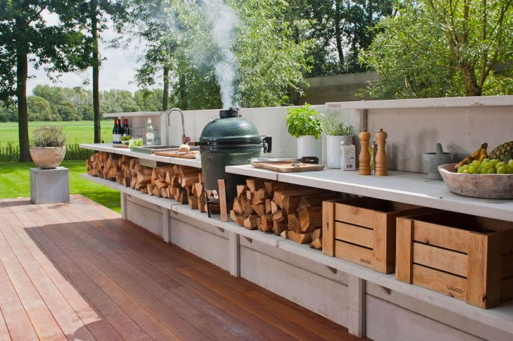 Kitchen Cabinets: Design Ideas For Outdoor Kitchen. Functional And Practical Outdoor Kitchen Design Ideas Style Desktop For Pc High Quality