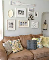 20 Lovely Decor Ideas for Adding Impact Above The Sofa ...