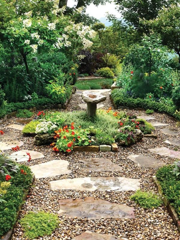 garden path and walkway