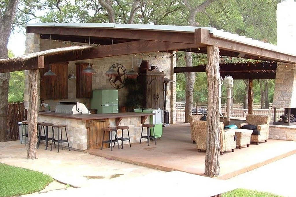 backyard kitchen designs lowes black sink 17 functional and practical outdoor design ideas style