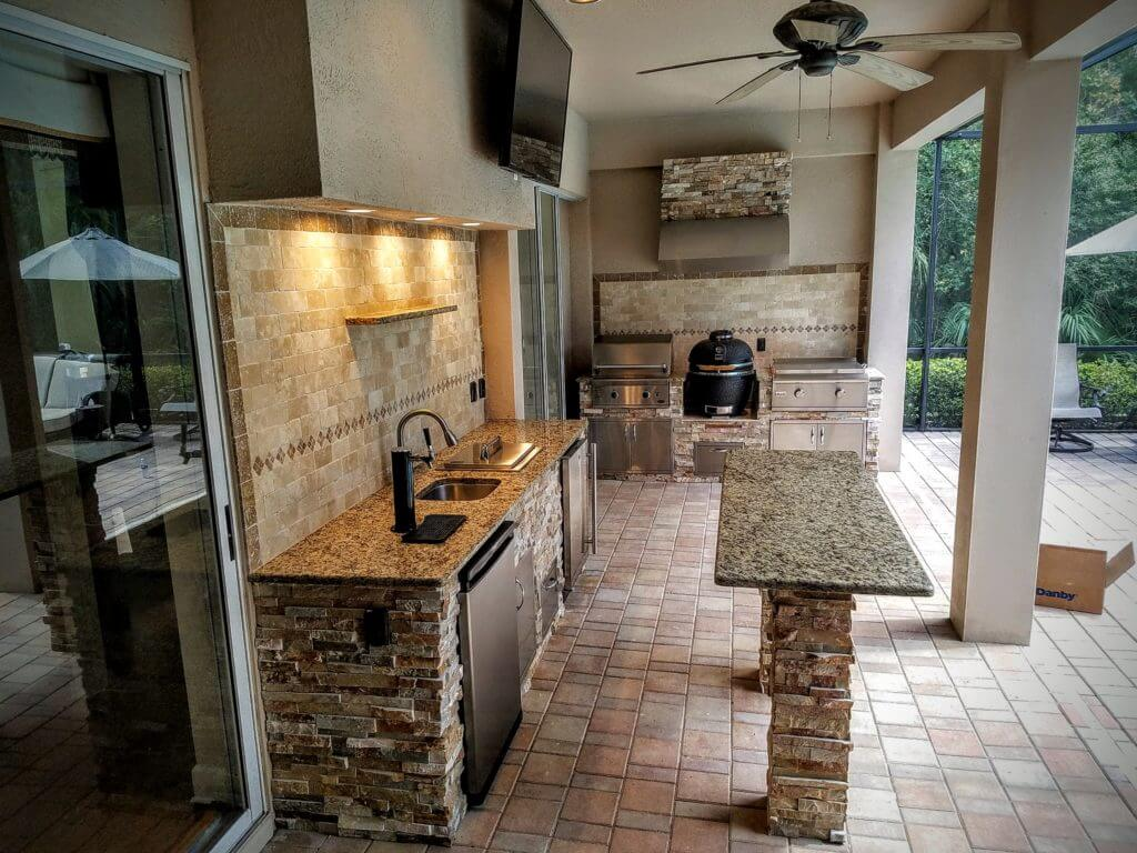 backyard kitchen designs stainless steel packages 17 functional and practical outdoor design ideas style