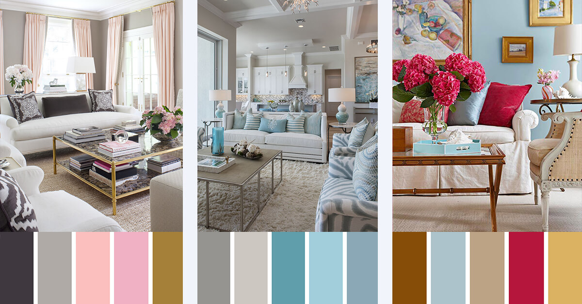 7 Best Living Room Color Scheme Ideas And Designs For 2017
