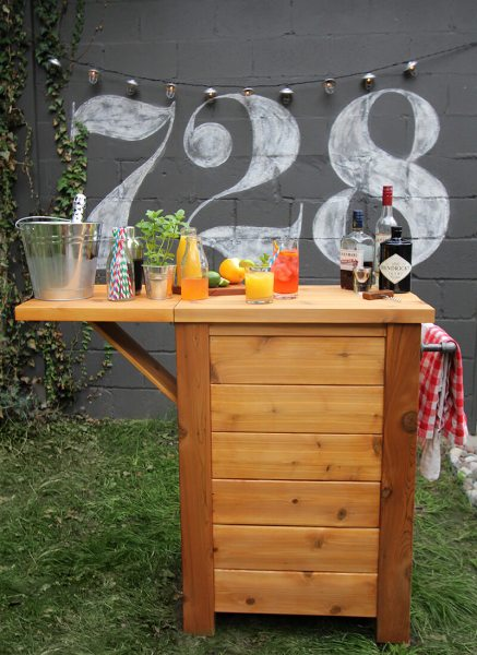 diy outdoor bar ideas 32 Best DIY Outdoor Bar Ideas and Designs for 2017