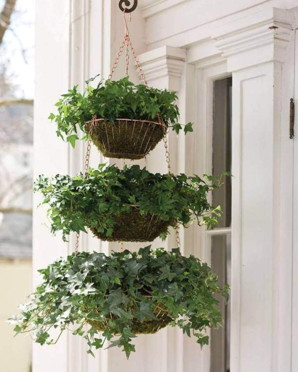 Wire Hanging Planter Baskets