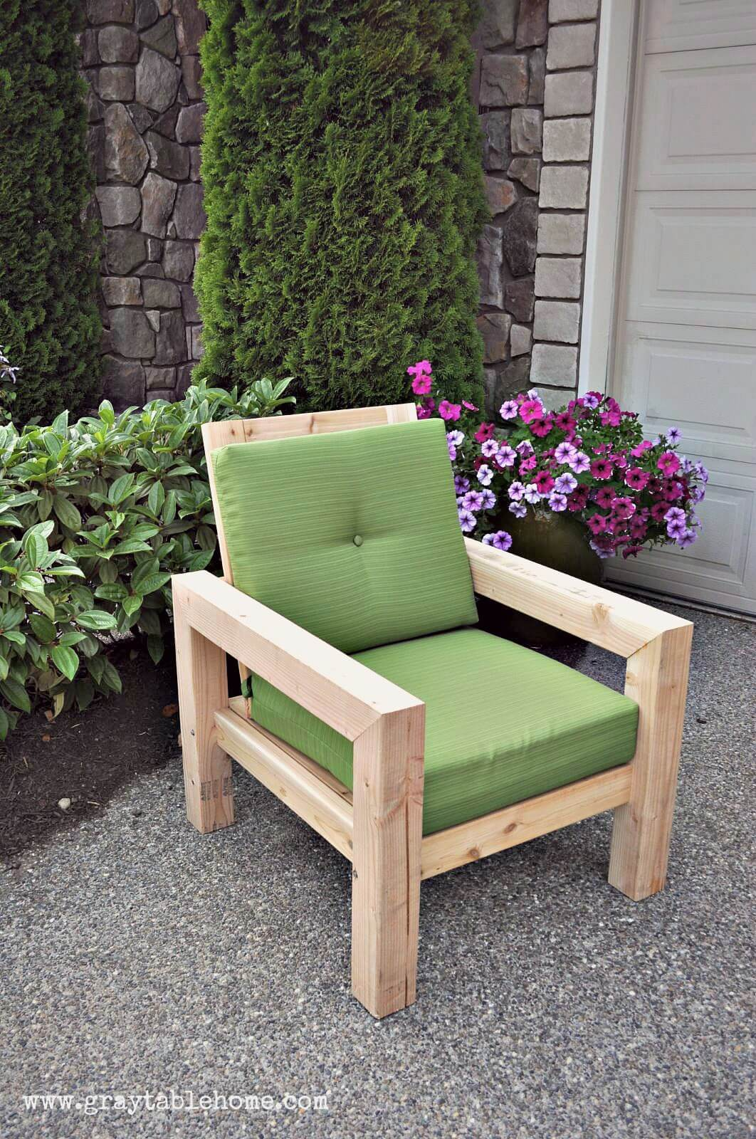 Outdoor Wooden Chairs 29 Best Diy Outdoor Furniture Projects Ideas And Designs