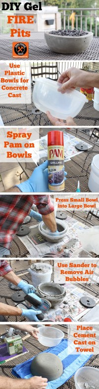 17 Best DIY Table Top Fire Bowls (Ideas and Designs) for 2017