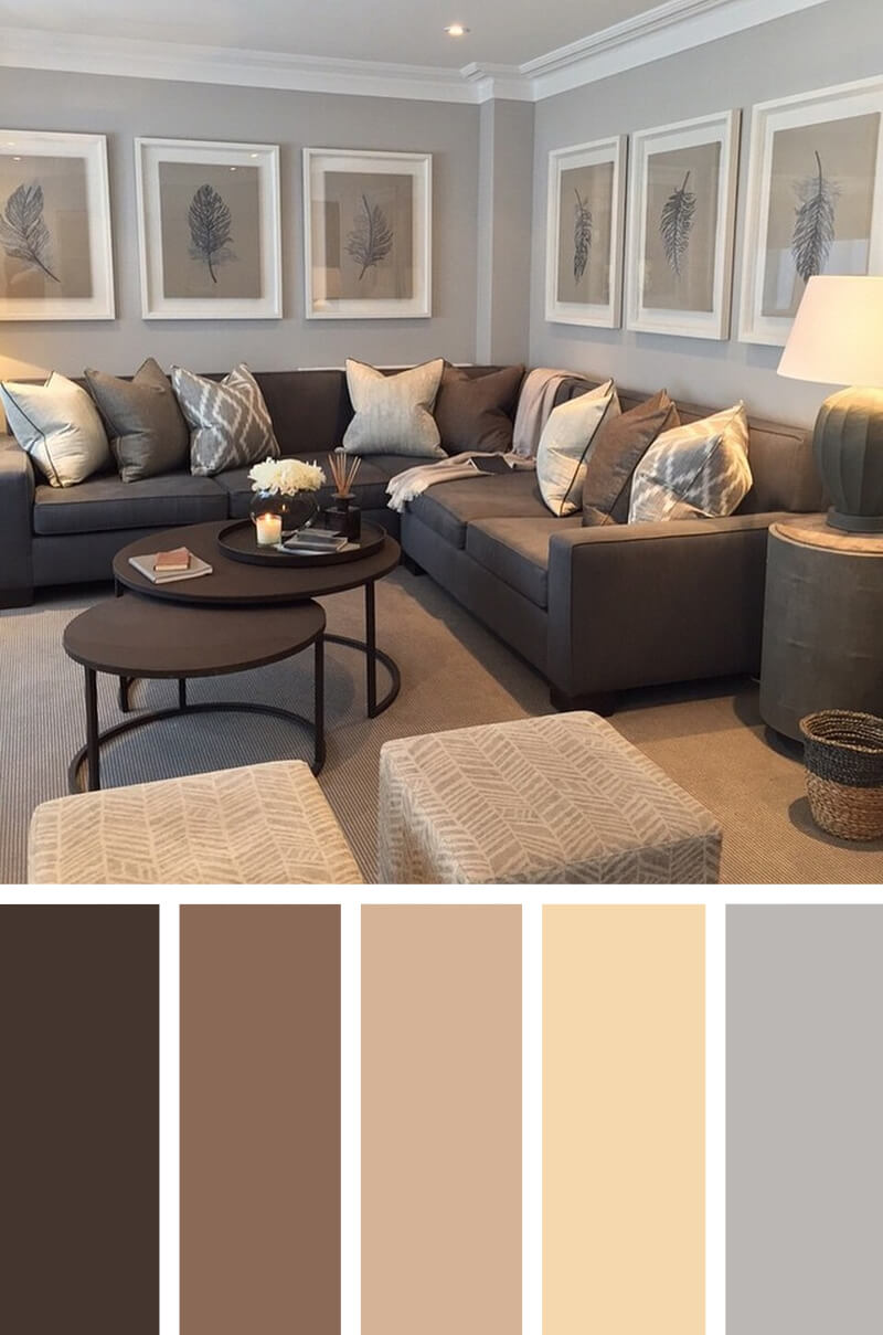 Yellow Living Room Color Schemes