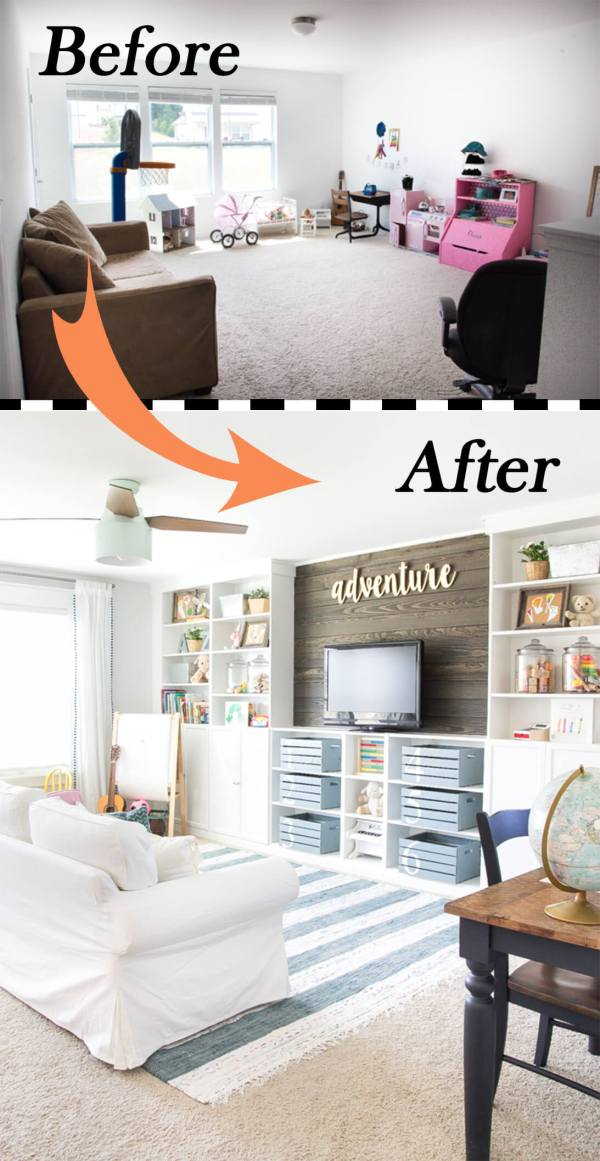 Diy Living Room Makeover, Ideas For A Living Room Makeover