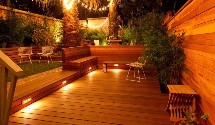 مقاليد مستنقع دمية أفخم outdoor deck lighting