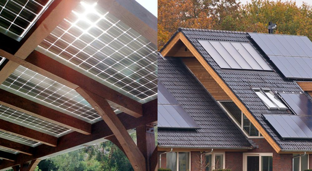 solar patio vs rooftop panels which