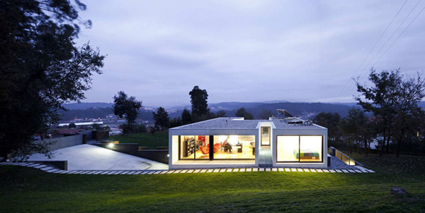 A Simple Yet Elegant Single Family House In Cambeses Home Design