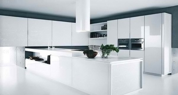 Modern White Kitchens French Bathroom Cabinets