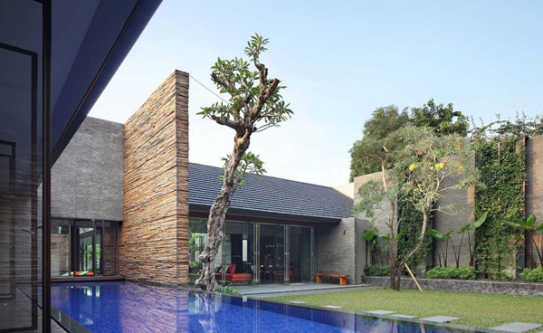 The Renovated Diminished House In South Jakarta Indonesia Home