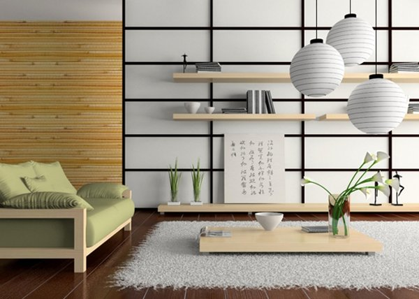 japanese style living room set