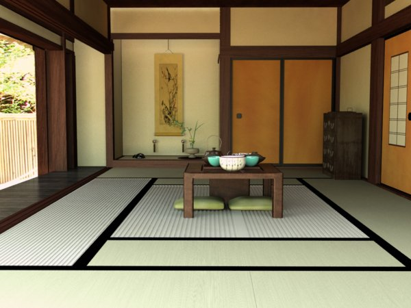 japanese style living room interior design