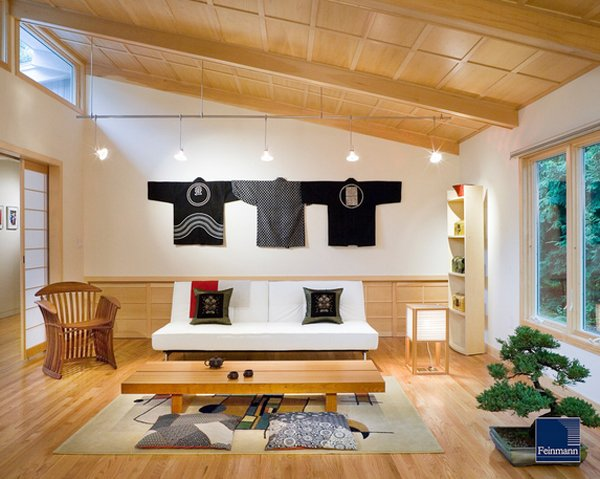 traditional japanese living room design