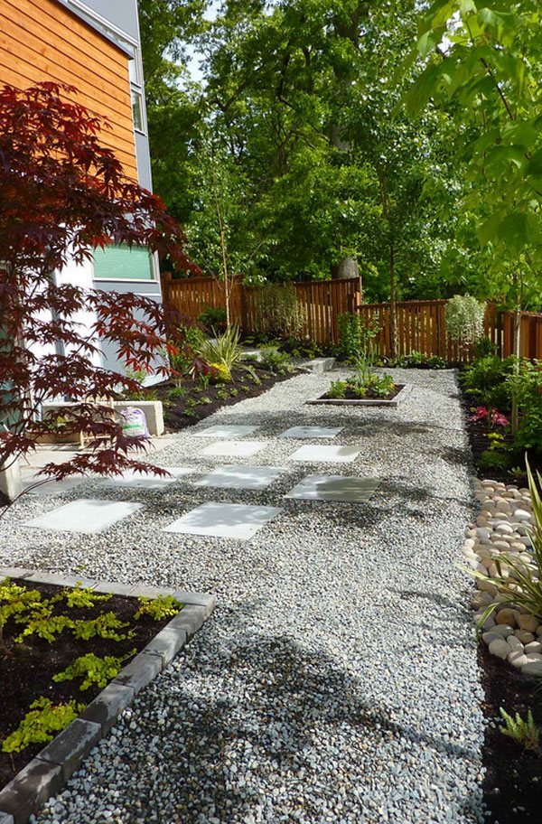decorative ideas of landscaping