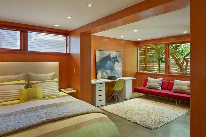 modern mid century bedroom furniture