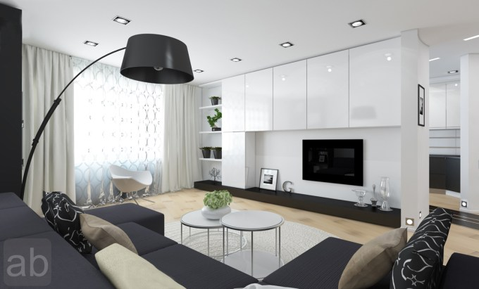 Pictures Of Black And White Living Room Designs ...