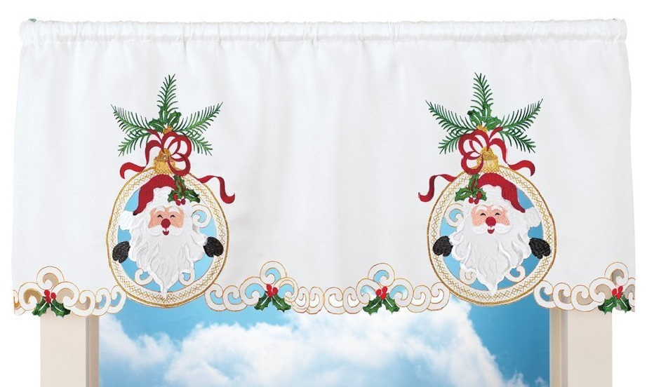 red valances for kitchen windows pull up cabinets lovable christmas curtain designs | home designing