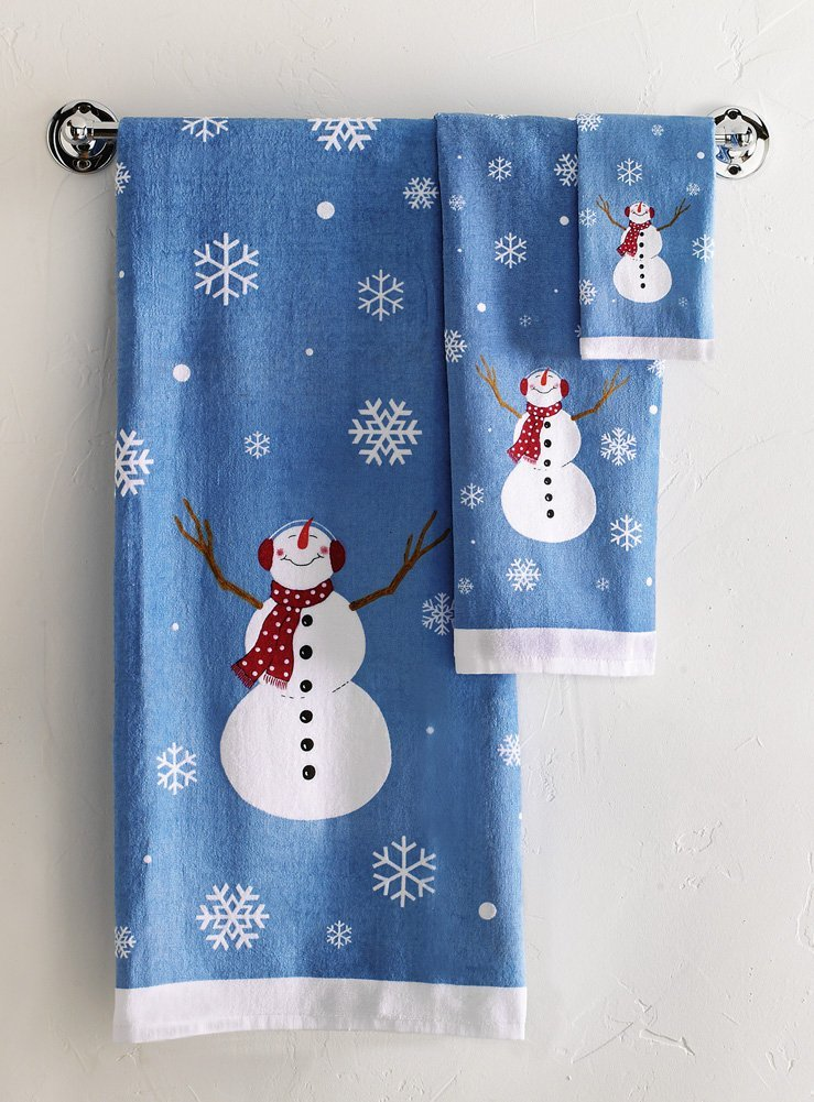Snowman Bathroom Sets