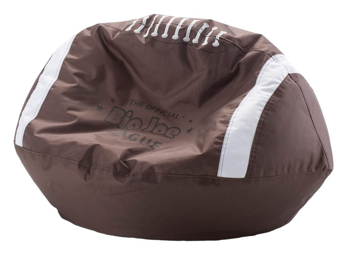 sports bean bag chairs hanging chair groupon sporty ball shaped bags home designing