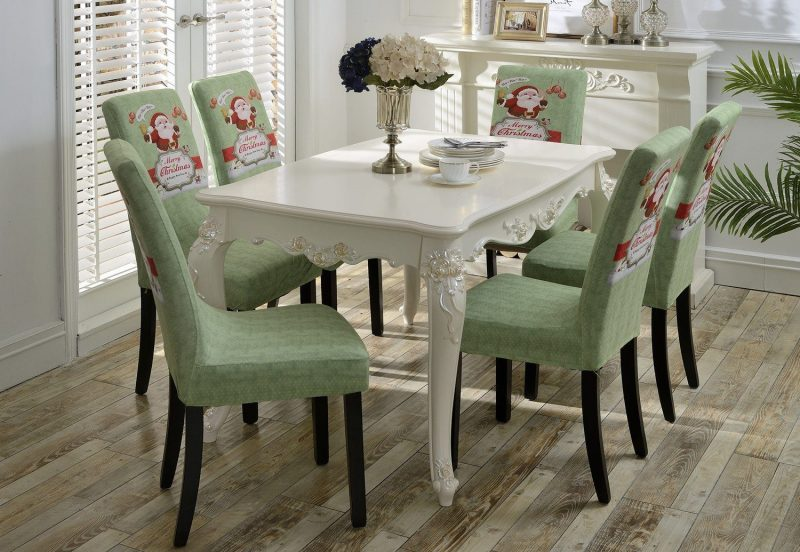 christmas elf chair covers upholstered revolving holiday cover pattern | home designing