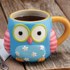 Coffee Themed Kitchen Items Free Makeover 28 Cute Owl Theme Home Decor For Your Dinning Area   ...