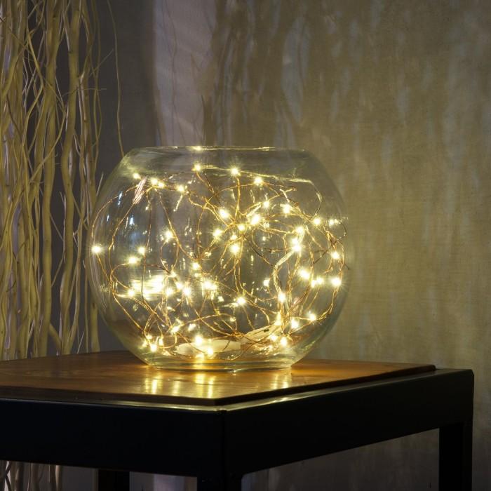 DIY Romantic String Light Centerpiece Amp Lamps Home Designing