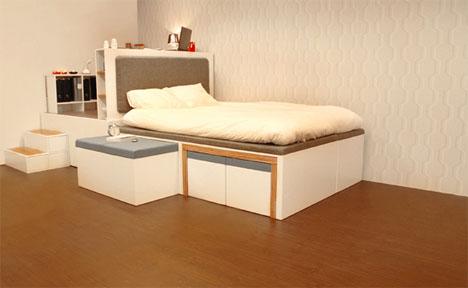 folding bed sofa set mammoth foam sofas saving space without compromises through modular furniture