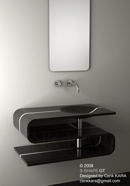 S Shaped Sink Design