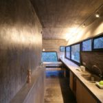 BAK Architects construct Concrete house in Mar Azul Forest14