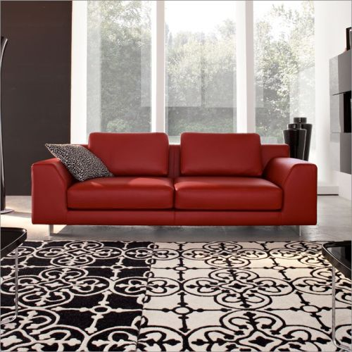 black leather living room traditional pictures calligaris red sofa collection on fabric or