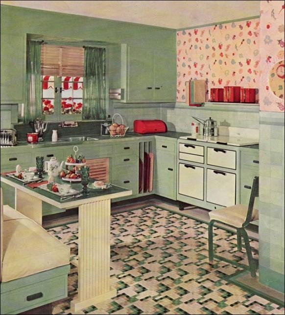 Retro Kitchen Design You Never Seen Before