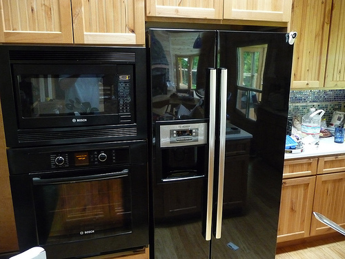 black kitchen appliances lighting for kitchens how to decorate a with