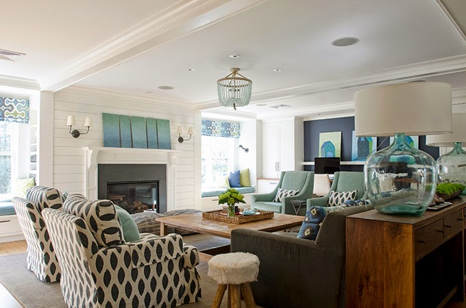 aqua and brown living room curtains decorating with no fireplace how to decorate your turquoise accents