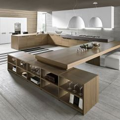 Design Kitchen Painted Tables Minimalist Ideas