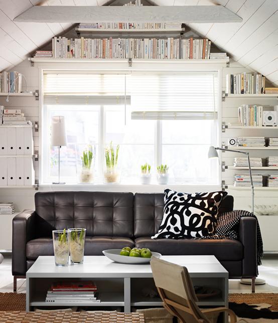 2011 IKEA Living Room Design Ideas