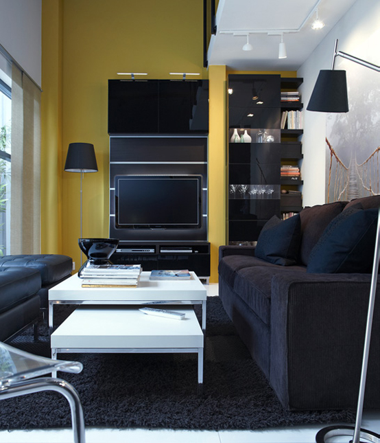 ikea small living room decorate around black sofa 2011 design ideas view in gallery