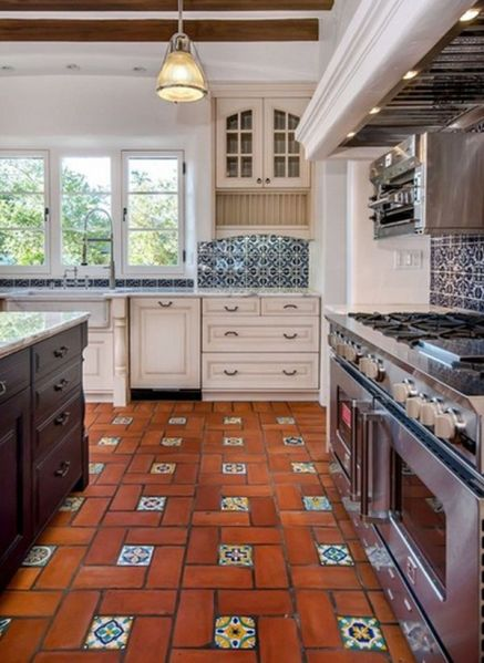 spanish style kitchen tiles floor ideas Home Decorating Ideas - The Spanish Style