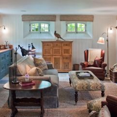 Basement Living Rooms Paint Ideas For Room With Oak Trim How To Transform Your Into An Extra