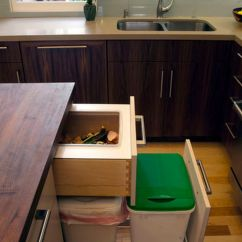 Kitchen Trash Remodel Cost A Few Practical Ways Of Incorporating Dustbins Into Your ...