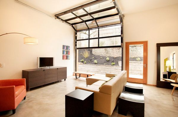 How To Turn A Messy Garage Into A Cool Annex
