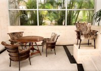 Palm tree furniture from Pacific Green