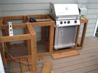 How to Build Outdoor Kitchen Cabinets?